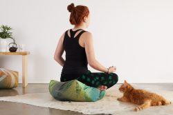 Ojamis Weed Meditation Cushion