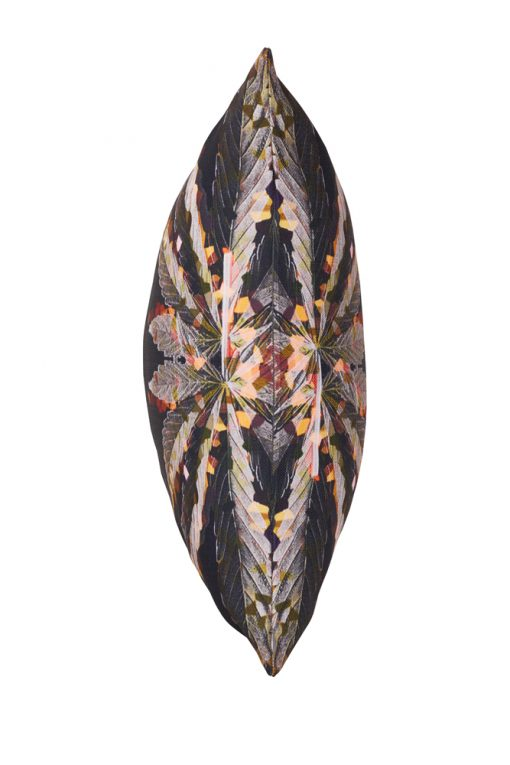 Bronze Crystal Weed Buds Decorative Cushion