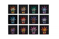 Acrylic Weed Coaster 67