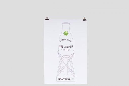 Pur Cannabis Poster