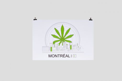 Sunrise Cannabis Montreal Poster